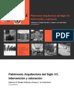 Patrimonio Arquitectura Del Siglo XX