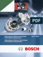 Alternadores e Arranques Bosch