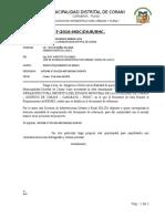 INFORME N°007 REQUERIMIENTO DE BIENES