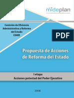 Propuesta Acciones Reforma Estado
