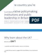 18-01-2016 Collaborative policymaking and public leadership in Britain - Perri 6.pdf