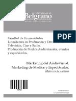3542-Marketing Del Audiovisual - Matrices de Analisis - Lanuque