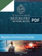 Oportunidad Estudio en de Maestría en Economía y Finanzas - Chile