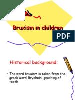 Bruxism in Children Pedo
