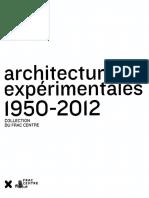 Architectures Expérimentales Marie Ange Brayer