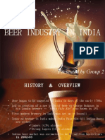 Beer Industry in India