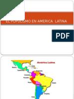 El Populismo en America Latina