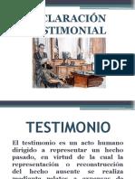Declaración Testimonial 4
