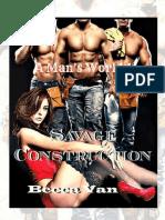 Becca Van - Un Mundo de Hombres 01 - Construcciones Savage