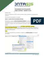 P. Actualizacion I-Contasis Version 14_Empresa -1