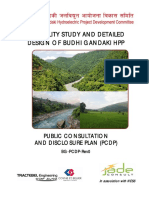 FEASIBILITY STUDY AND DETAILED DESIGN OF BUDHI GANDAKI HPP