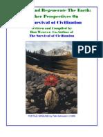 SURVIVAL OF CIVILIZATION BY Don Weaver