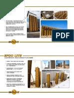 EFCO LITE Column and Hand E Form