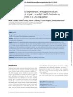 ACEs Social Determinants of Health