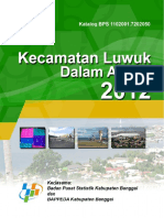Kecamatan Luwuk Dalam Angka 2012