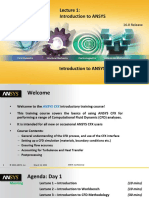 CFX-Intro 16 L01 Introduction to ANSYS