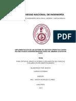 Implementación de Un Sistema de Gestión Operativa Diaria en Una Planta Concentradora-caso CIA. Minera Atacocha s.a.a.