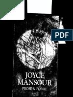 Deux Nouvelle s de Joyce m and Our