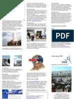 Organisatie voor Duurzame Energie - flyer ODE
