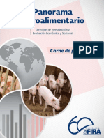 Panorama Agroalimentario Carne Porcino 2015