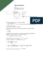 Cálculo de Engranajes de Trasmisión y Rodamientos