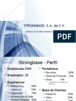 STRONGBASE Portafolios Productos y Servicios 2015