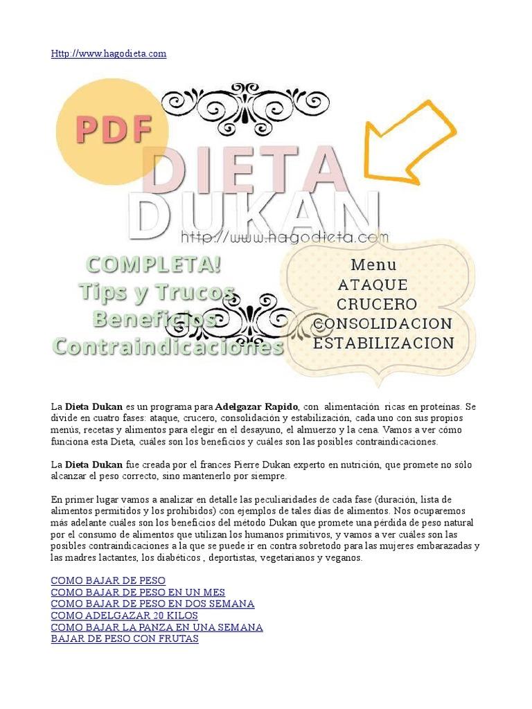 las recetas de dieta dukan para la fase de ataque