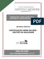 Meterial Didatico - Certificacao Serie ISO 9000 - Gestao Da Qualidade