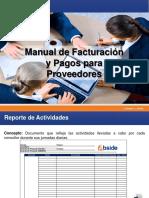 Manual de Proceso Para Facturacion y Pagos para Proveedores.pdf