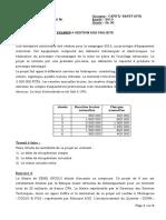 Planification et Contrôle de l'entretien (sujet)