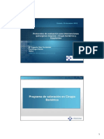 Protocolos de Evaluacion Para Intervenciones Quirurgicas (Bariatricas y Trasplantes)