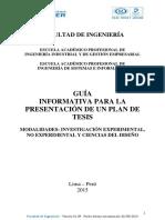 Guia Informativa Para El Plan de Tesis -- Facultad de Ingenieria_v18