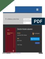 Derecho Tributario Aduanero - Jorge Witker UNAM