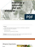 Diagnostico y Tratamiento Integral en Alergia