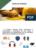 treinamento equipamento de proteção individual