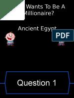 Egyptian Quiz
