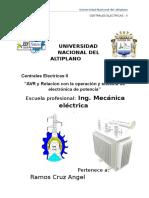 Grupo 4. Avr y Electronica de Potencia(Angel Ramos Cruz y Lenin Marron Mendoza)