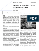 Real-Time Supervision of Annealing Process in Stainless Steel Production Lines