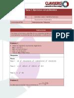 razonamiento matematico tarea 1