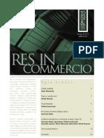Res in Commercio 05/2010