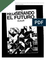 Book Ackoff-rediseñando El Futuro