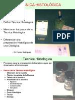 Tecnica  Histologica y Citologica