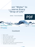 Facts and Benefits of Water