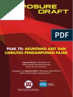ED_PSAK 70 Akuntansi Aset Dan Liabilitas Pengampunan Pajak