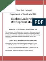 Guide Student Leadership Development