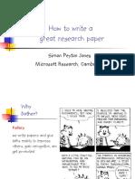 How to write a great research paper Simon Peyton Jones.pdf