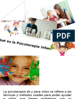 Introducción a la psicoterapia Infantil