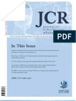 Journal of CyberTherapy and Rehabilitation, Volume 3, Issue 1, 2010