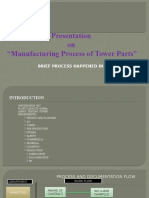 Manufacturing Process of Tower Parts