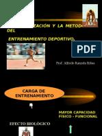 Biologizacion y Metodologia Del Entrenamiento Deportivo